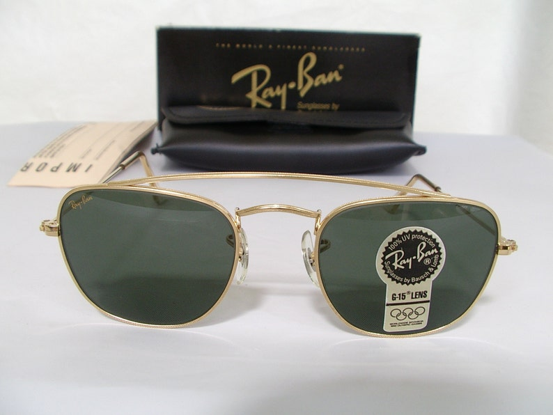 0d5306ced3941 New Vintage b l Ray Ban Classic Collection Style 5 with Brace