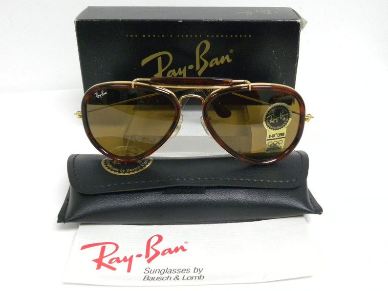 091809e1db New Vintage B L Ray Ban Traditionals Style G Arista Gold