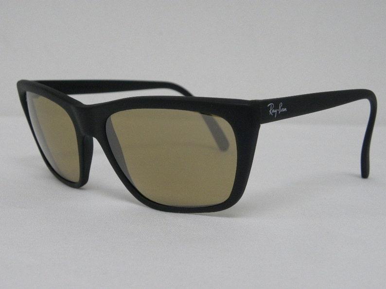 585162b9764 New Vintage B L Ray Ban Cats 3000 Matte Black RB-50 56mm W0637