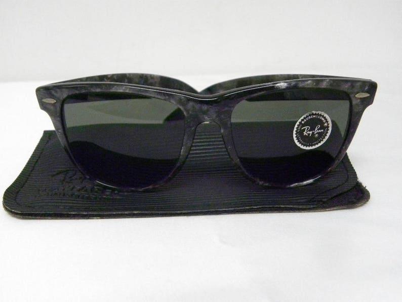 0ceeeded5699 New Vintage B L Ray Ban Wayfarer II Limited Black Tortoise