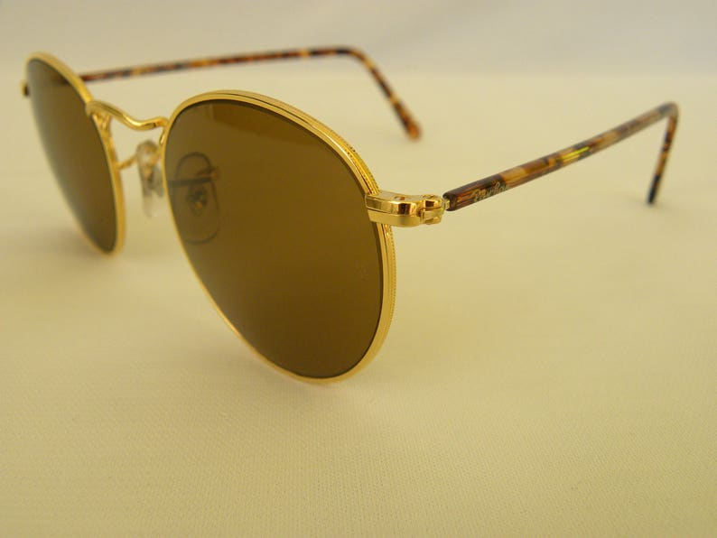d6143ea4654 New Vintage B L Ray Ban Classic Collection Small Round Metal
