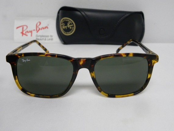 060dc71e81 New Vintage B L Ray Ban Traditionals Style 3 Dark Tortosie