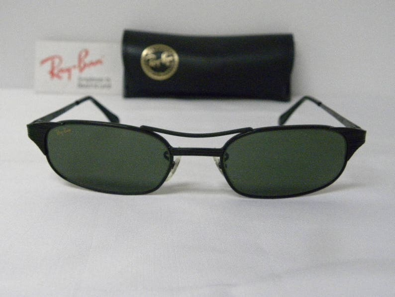 f067391e70 New Vintage B L Ray Ban Signet Rectangle W1397 Black