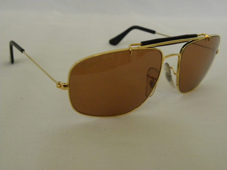 d3dcabbb7e New Vintage B L Ray Ban Explorer Chromax Gold Black 58mm