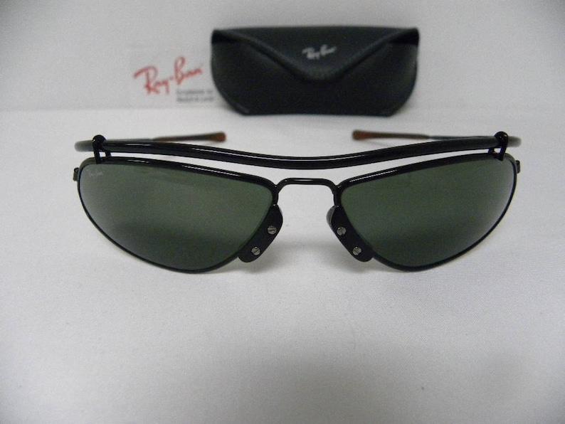 15dd93634d New Vintage B L Ray Ban Inertia Black G-15 W2456 Sunglasses