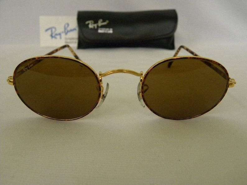 de44246c9 New Vintage B&L Ray Ban Classic Collection I 1 Oval Elite Gold   Etsy