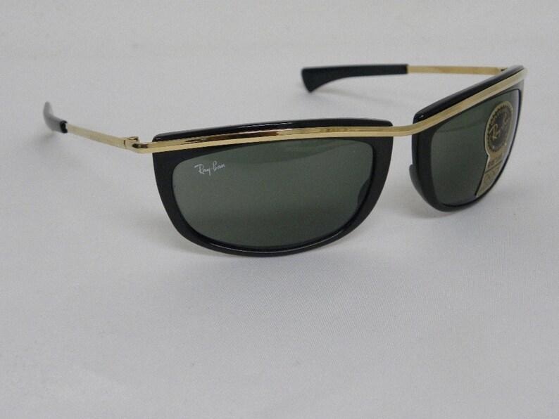 ea22676f5 New Vintage B&L Ray Ban Olympian I Black L1000 Predator | Etsy