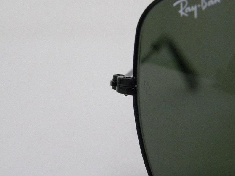 b5342c7e55d New Vintage B L Ray Ban Classic Metals Explorer Black G-15