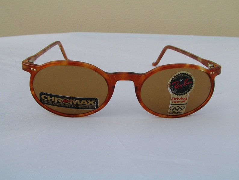 c53465ca0d New Vintage B L Ray Ban Asbury Oval Blonde Tortoise Driving