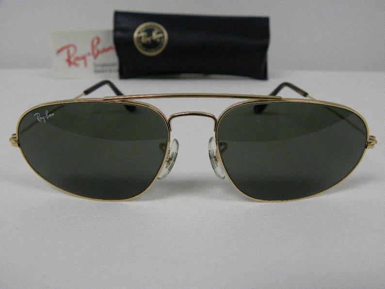 d1f74c5d28c New Vintage B L Ray Ban Fashion Metal VI Gold G-15 W1597