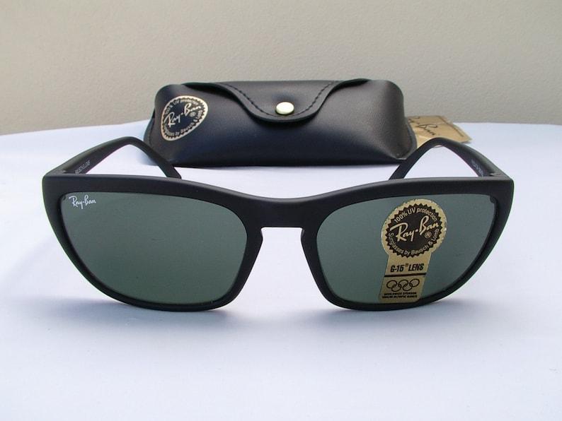 a04e3d844 New Vintage B&L Ray Ban Predator Style 1 PS1 Matte Black W1846 | Etsy
