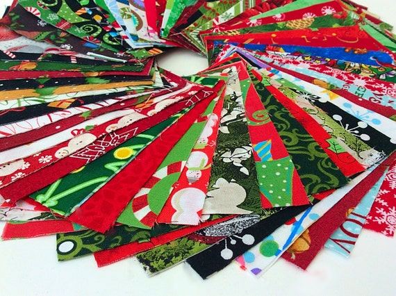 Christmas Fabric Charm Pack Lot 100 Cotton Quilting Fabric Etsy