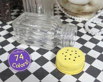 Salt & Pepper Shakers in Summer Squash Yellow