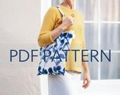 Raine Tote PDF, rainbow tote bag, purse patterns, bag pattern, easy tote pdf, rainbow pdf, tote patterns, purse pattern, jillyatlanta