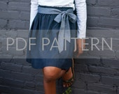 Sadie Skirt PDF, girl skirt pattern, skirt pdf, sewing pdf, easy pattern, skirt pattern, sewing patterns, toddler patterns, tween pdf