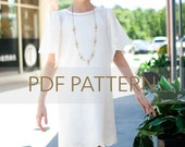 Birdie Dress PDF, girl dress pattern, vintage style pdf, ruffle dress, girl pdf, sewing patterns, sewing, pdf sewing patterns, jillyatlanta
