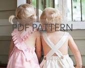 Melbourne Romper PDF, boy romper pattern, girl romper pdf, romper pdf, kids sewing patterns, sewing pdf, kid romper, toddler romper pdf