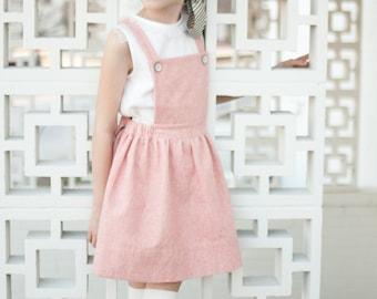 Macy Pinafore PDF,suspender skirt pdf,pinafore PDF,pinny pattern, tween pinafore, sewing patterns, girl patterns, toddler pdf, kids patterns