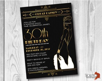 1920s Invitations Etsy
