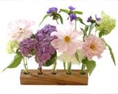 Romantic Wood Vase-Wedding, Birthday, Mother's Day