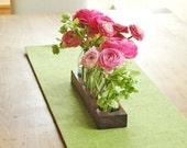wood vase romatic, wedding decor