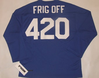 FRIG OFF 420 Hockey Jersey 12bfff6b3de