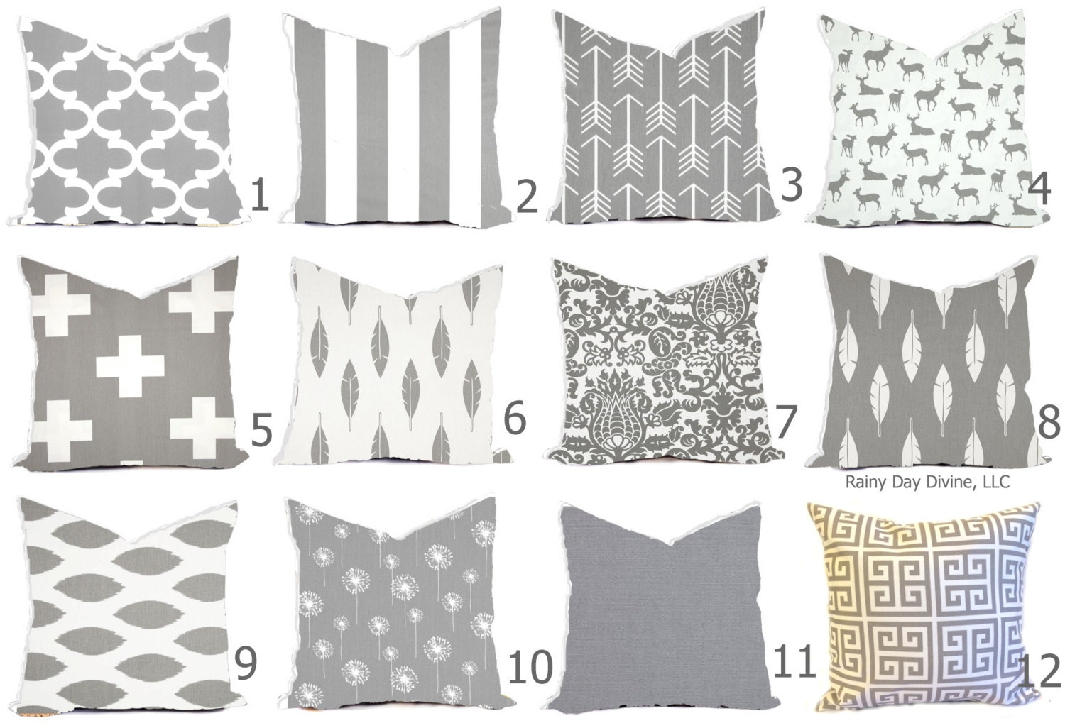 Super Gray Pillow Covers Gray And White Throw Pillows Gray Camellatalisay Diy Chair Ideas Camellatalisaycom