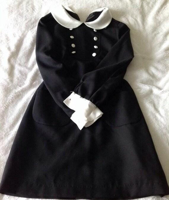 Authentic Vintage Mod Lolita Dress Gothic Babydoll