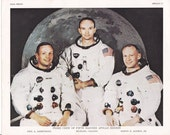 Apollo 11 Crew Photo-lithograph