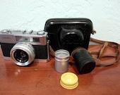 Minolta AL-F Film Camera Vintage 1960s