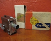 Keystone 8mm Roll Film Movie Camera
