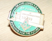Masonic Lodge Button...
