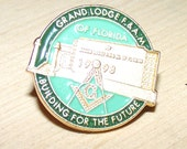 Masonic Lodge Button