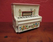 Vintage Honky Tonk Piano Musical Jewelry Box