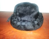 Black Empress Vintage Woman's Hat