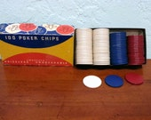Vintage Poker Chips from ...