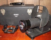 Old 1940s Argus Slide and Film Strip Projector