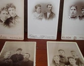 Antique Cabinet Card Phot...