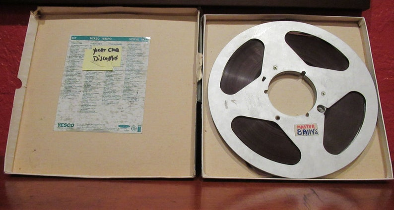Reel to Reel Tape and Aluminum Take Up Reel image 0