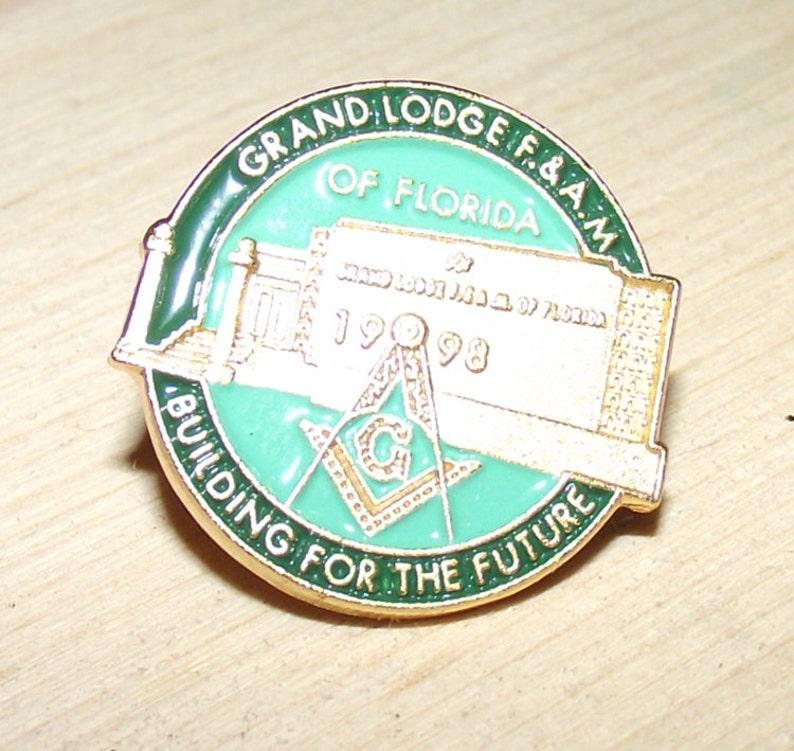 Masonic Lodge Button image 0