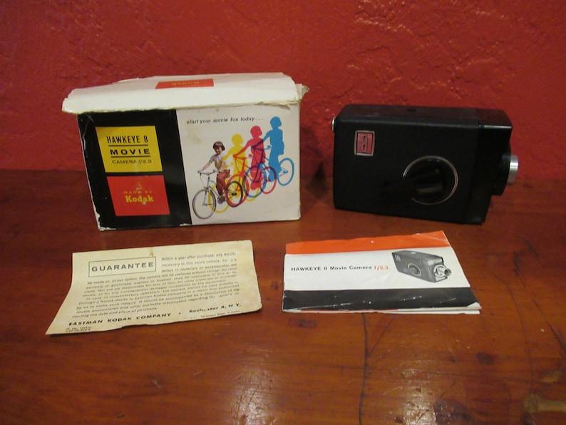 Kodak Hawkeye Movie Camera image 0