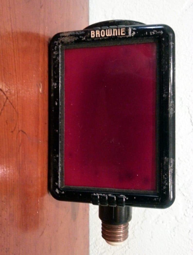 Eastman Kodak Brownie Safelight image 0