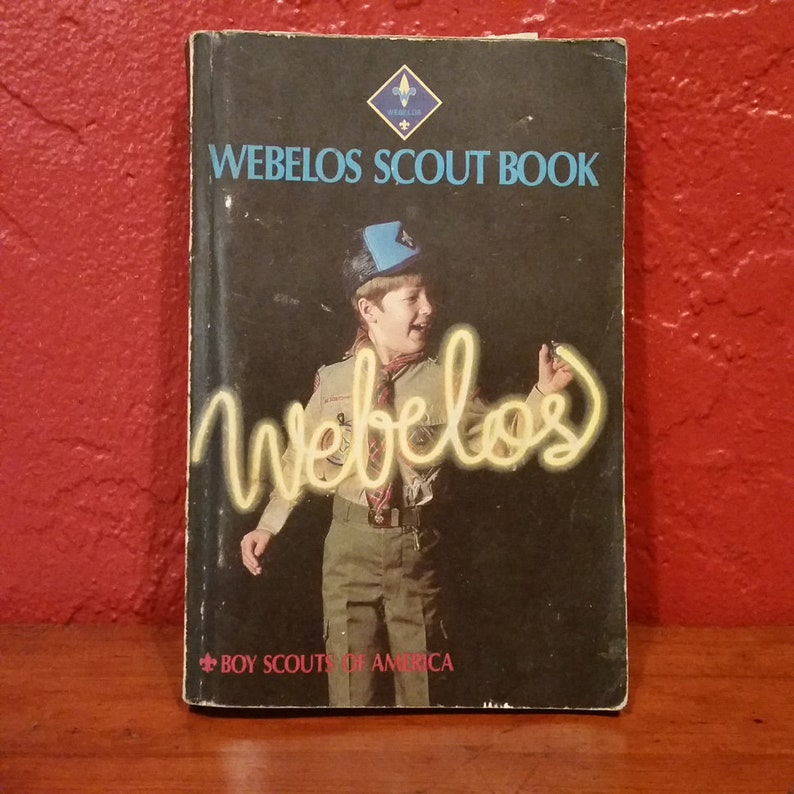 Webelos Scout Book 1988 image 0