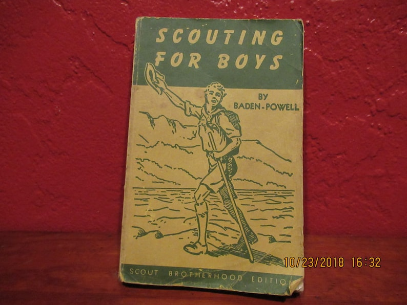 Scouting for Boys Boy Scout Handbook image 0