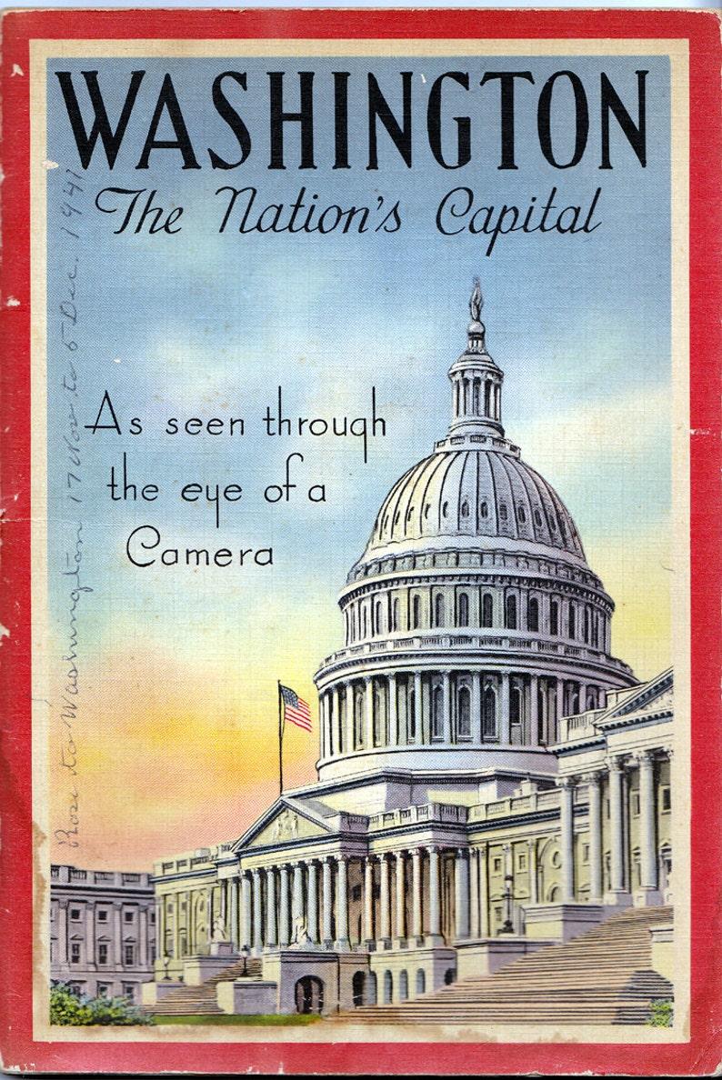 Washington as Seen Through the Eye of a Camera 1925 image 0
