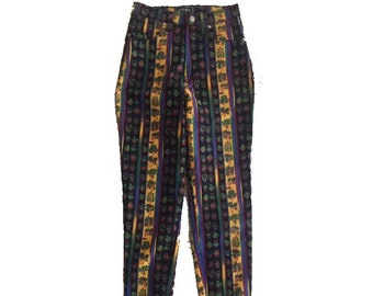 5ddf55378c39 Versace Jeans Couture Plant Print Pants