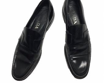 41b212aa2f5 Vintage 90s Prada Loafers