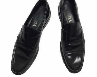 cc7c0d72a50 Vintage 90s Prada Loafers