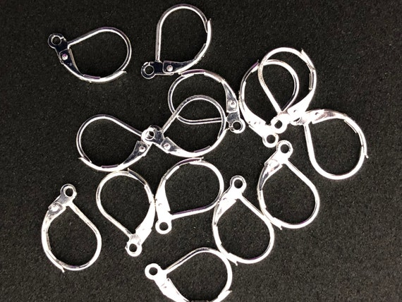 Sterling Silver Lever Back ear wires