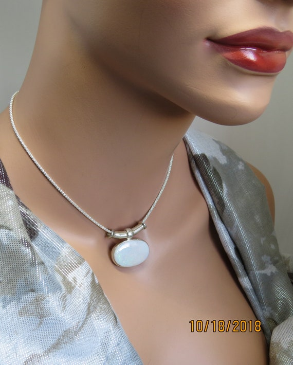 Necklace Ethiopian Opal